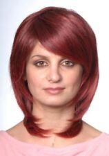 Collar Length Straight Hair Wig w/Side Bangs, Breezy Ultra Comfort Cap - Deidre