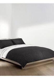 Calvin Klein Modern Cotton Gene Black/White King Duvet Cover & Pillowcases Set