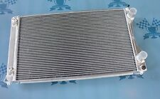 Fit Audi V8 4C 3.6/4.2 Quattro 1988-1994 91 92 AT Full aluminum radiator 2 Rows