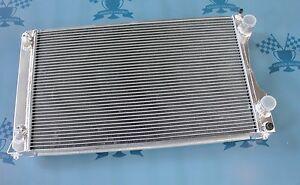 Fit Audi V8 4C 3.6/4.2 Quattro 1988-1994 91 92 AT Full aluminum radiator 2 Rows
