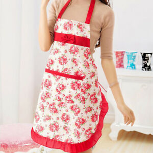 Cooksmart Cotton Twill Chef Cooking Baking Kitchen Pinny Apron with Pocket sz