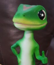 Officially Licensed7  inch Tall GEICO Gecko Bobble Head - OOP Lizard Bobblehead