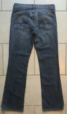 Womens 7 SEVEN FOR ALL MANKIND Jeans Boot Cut Flip Flop Sz 29 (x 30.5 inseam)