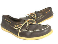 Sperry Men's Top-Sider Boat Shoes 2-Eye Boat Shoes Leather size 12M