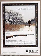 2007 BERETTA Urika 2 Shotgun AD Hunter w/ Bird Dog Advertising