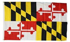 Maryland State Flag 3 x 5 Foot Flag - New 3x5 Indoor Or Outdoor -