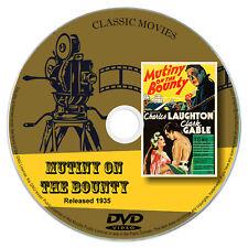 Mutiny On The Bounty 1935 DVD Film Charles Laughton Clark Gable Adventure Drama