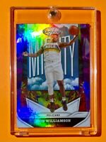 Zion Williamson NEW PANINI CERTIFIED THE MIGHTY SPECIAL INSERT HOLO FINISH Mint!