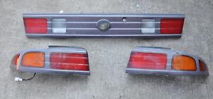 Nissan 240SX S14 Kouki Tail Lights JDM Tail Light Lenses LH RH Center DAMAGED