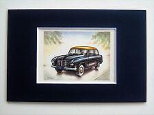1956 Goliath GP900E Limousine - Mounted Colour Vintage Car Automobile Print