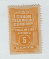 Spain Antilles Telephone Telegraph from booklet pane stamp 1-18b ABNC mng RARE