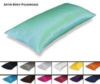"Aiking Home 400TC Bridal Satin Body Pillowcase with Zipper, 54""x19"" (1-Pack)"