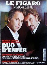 Mag 2006: FABRICE LUCHINI et JOHNNY HALLYDAY_JEAN-PAUL GAULTIER_JOAN BAEZ
