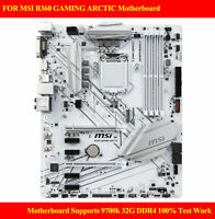 FOR MSI B360 GAMING ARCTIC Motherboard Supports 9700k 32G DDR4 100% Test Work