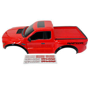 Traxxas Body, 2017 Ford Raptor(tm), Red (heavy Duty)/ Decals TRX5826A