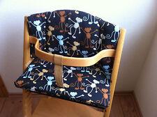 Reductor de asiento cojines monos para Stokke tripp Trapp babyset silla alta nuevo
