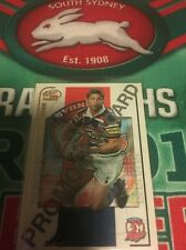 2005 Select Power NRL Promotional Card Luke Ricketson Sydney Roosters