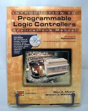 INTRODUCTION TO PROGRAMMABLE LOGIC CONTROLLERS APPLICATIONS MANUAL w/ CD-ROM!