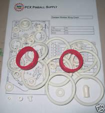 1983 Bally/Midway Centaur II Pinball Machine Rubber Ring Kit