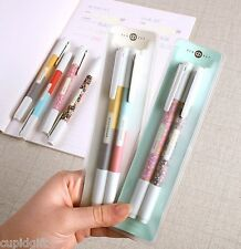 Duo Pen Color & Pattern 0.38mm 4EA 8 Colors Diary Planner Study Writing Marker