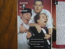 3/21/1959 TV Guide(JOE DE RITA/THE THREE  STOOGES/LISA LU/WAGON TRAIN/MO HOWARD)