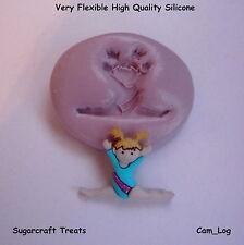 Ginnasta 3 Sport Stampo In Silicone, Sugarcraft, Cupcake Biglietto Topper