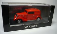 1 AMERICAN HOT ROD RED 1:43 MINICHAMPS