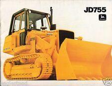 Equipment Brochure - John Deere - 755 - Crawler Loader - 1980 (E1080)