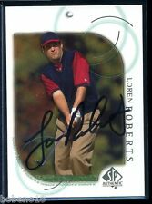 Loren Roberts signed autographed Auto 2001 SP Authentic PGA Golf card #25