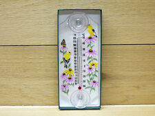Aspects Classic Window Mount Thermometer Goldfinch #259 Indoor Outdoor