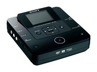 """Sony DVD Recorder DVDirect VRD-MC6 DVD Burner w/ 2.7"""" Screen & AVCHD Recording"""