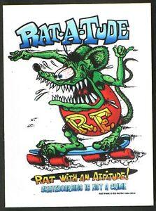 Rat-A-Tude STICKER Decal Ed Roth Rat Fink Ratatude Official Original