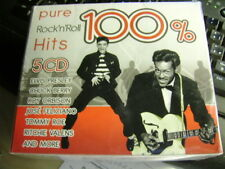 PURE ROCK'N'ROLL HITS  100%   5CD  NUOVO SIGILLATO
