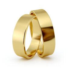 AURITUM 1 Paar Trauringe, Eheringe aus Gold 333/585/750, 5mm, Gravur, TOP