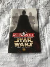 Star Wars Monopoly 1997 Instruction Booklet, New
