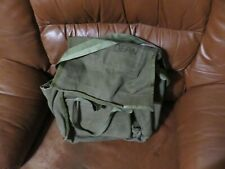 Vintage Military Vehicle Tool Equipment Bag OD Green