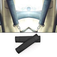 2pcs UNIVERSAL Car Safety Belt Covers Leather Seat Belt Shoulder Pad Adjustable