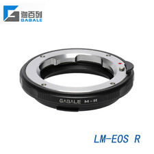 GABALE adapter for Leica LM Zeiss M VM mount lens to Canon EOS R mount camera