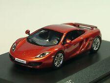 Minichamps MCLAREN 12c, Rosso-Metallico - 877 133020 - 1/87 lim.600