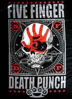 "FIVE FINGER DEATH PUNCH FLAGGE / FAHNE ""PUNCHAGRAM"" POSTER FLAG POSTERFLAG"