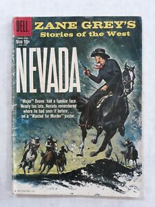 Dell Four Color Comics 996 Zane Grey's stories of the West Nevada