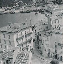 CORSE c. 1940 - Le Port de Bonifacio  Maisons Bateaux  - C63