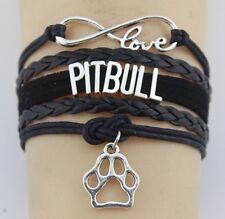 Wrap Bracelet Love Pitbull Adjustable