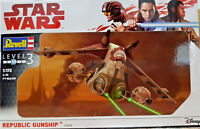 Star Wars Republic Gunship Guerre Stellari - Revell Kit 1:172 - 03613