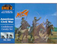 IMEX American Civil War Confederate Cavalry Set 1/72 Scale Plastic Model Kit