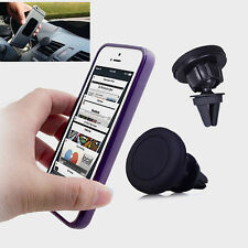 Car Air Vent Phone Holder Magnetic Mount for iPhone  5 5S 5SE 6 6S 6S 7 Plus 080