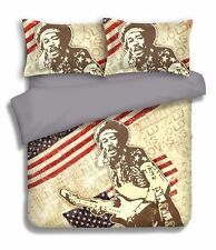 JIMI HENDRIX DOONA COVER SET DUVET QUILT BOYS ,DOUBLE SIZE,NEXT DAY DELIVERY
