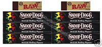 Snoop Dogg King Size Rolling Papers 7 Pack Kingsize Paper And Raw Tips