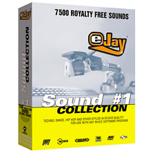 🥇 eJay Sound Collection 1, 7500 HQ WAV sounds, loops and samples, DAW, Music