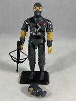 Storm Shadow Cobra Ninja 1984 Style Gray Custom Black Major GI Joe 